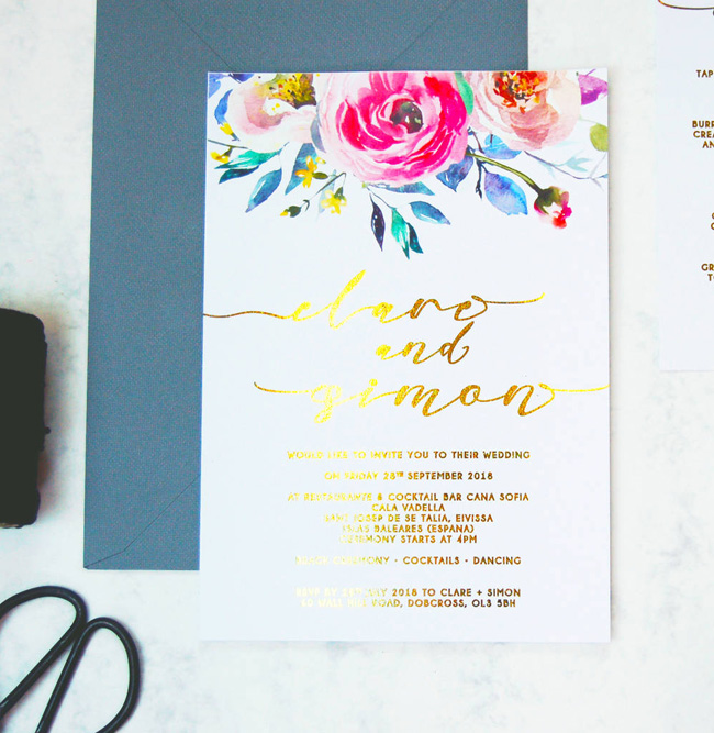 wedding invitation collections roundup the best for 2018 (9)