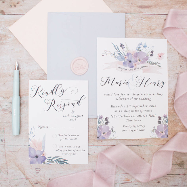 wedding invitation collections roundup the best for 2018 (8)