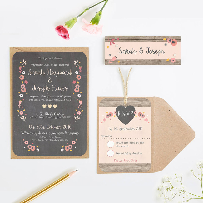 wedding invitation collections roundup the best for 2018 (7)