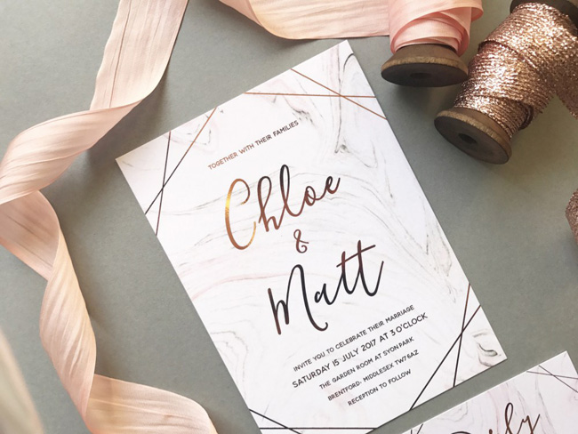 wedding invitation collections roundup the best for 2018 (4)