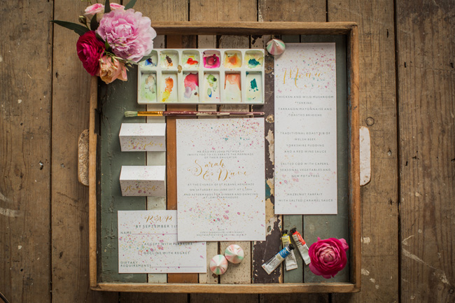 Watercolor wedding style ideas with the Little Wedding Helper, image credit Evoke Photography (27)