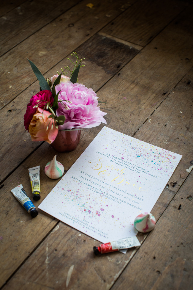 Watercolor wedding style ideas with the Little Wedding Helper, image credit Evoke Photography (17)