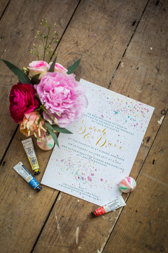 Watercolor wedding style ideas with the Little Wedding Helper, image credit Evoke Photography (15)