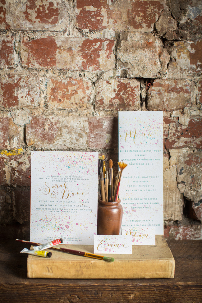 Watercolor wedding style ideas with the Little Wedding Helper, image credit Evoke Photography (14)