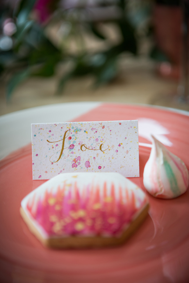 Watercolor wedding style ideas with the Little Wedding Helper, image credit Evoke Photography (13)