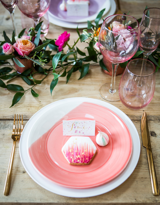 Watercolor wedding style ideas with the Little Wedding Helper, image credit Evoke Photography (11)