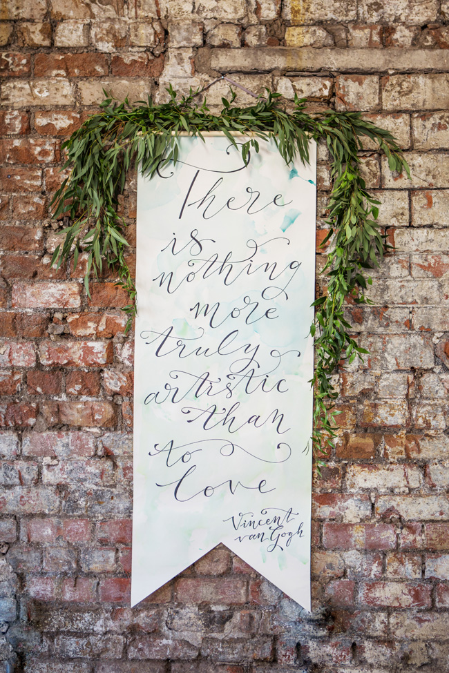 Watercolor wedding style ideas with the Little Wedding Helper, image credit Evoke Photography (8)