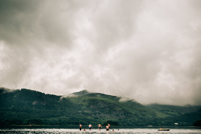 Gorgeous Cumbrian wedding with early morning swimming! Fairclough Photography (5)