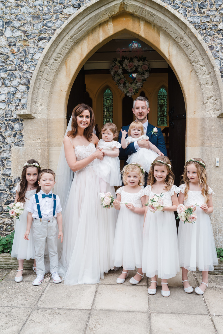 Elegant English wedding with afternoon tea, image credit Hannah McClune Photography (22)