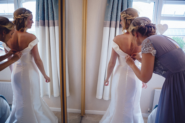Barn wedding in Worcestershire, images by Curious Rose (7)