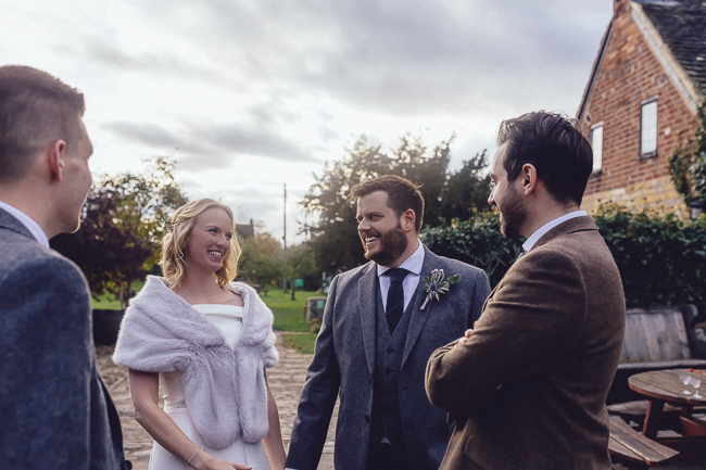 Barn wedding in Worcestershire, images by Curious Rose (22)