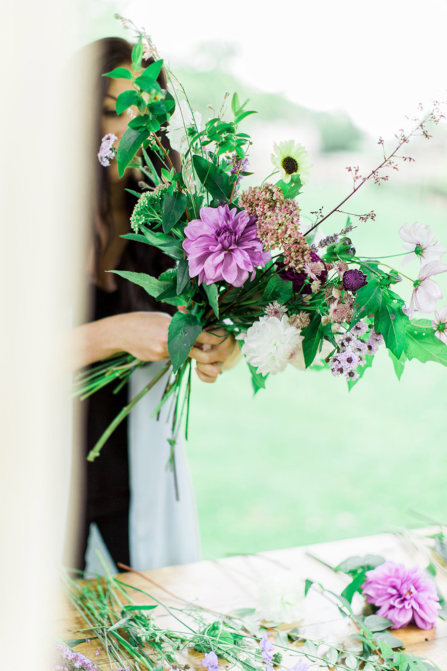 How to style your wedding with British grown flowers, with Alexandra Rose and Bethany Stanley Photography (6)
