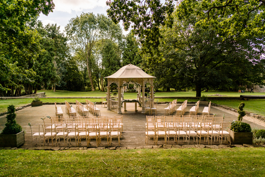 Glamorous English summer wedding at Eastington Park, images by John Barwood Photography (14)