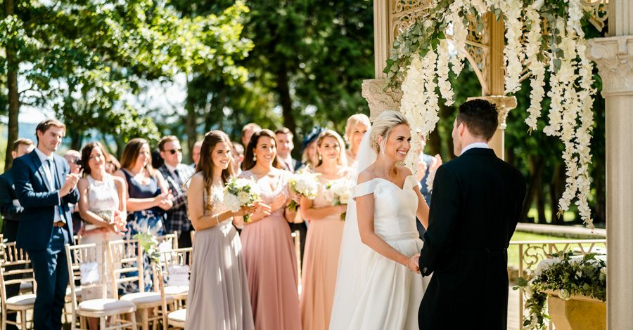 Glamorous English summer wedding at Eastington Park, images by John Barwood Photography (19)