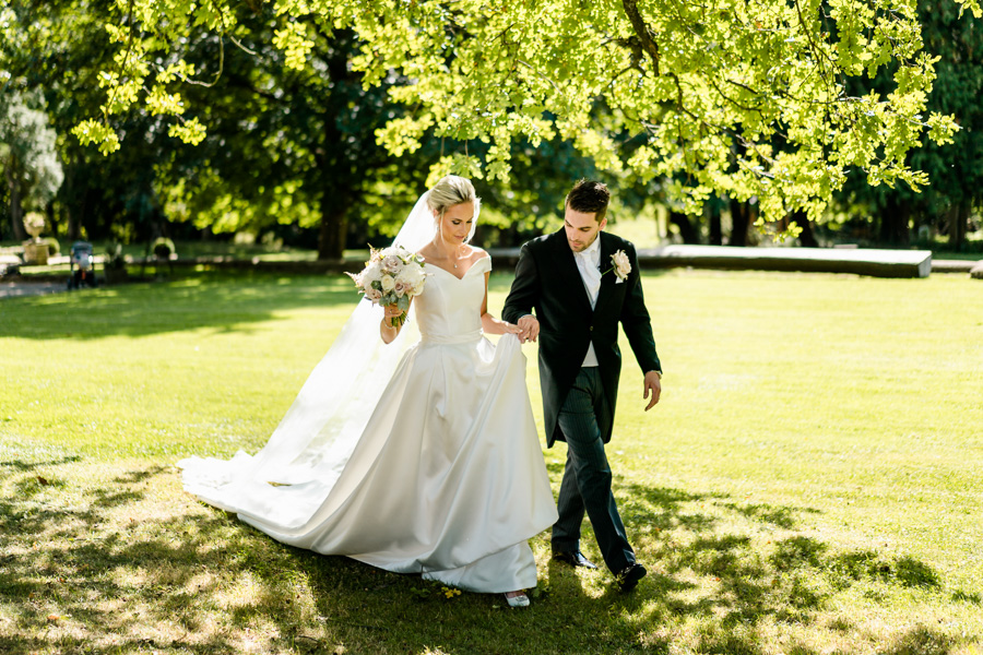 Glamorous English summer wedding at Eastington Park, images by John Barwood Photography (20)