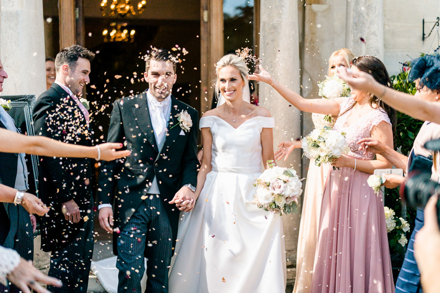 Glamorous English summer wedding at Eastington Park, images by John Barwood Photography (22)