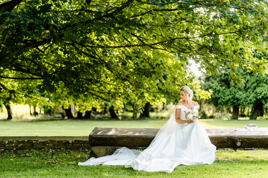 Glamorous English summer wedding at Eastington Park, images by John Barwood Photography (35)