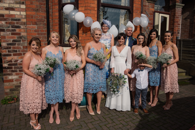 Handmade wedding in Manchester, reception at Locke 91 Deansgate, images by Jenn Brookes Photographer (8)