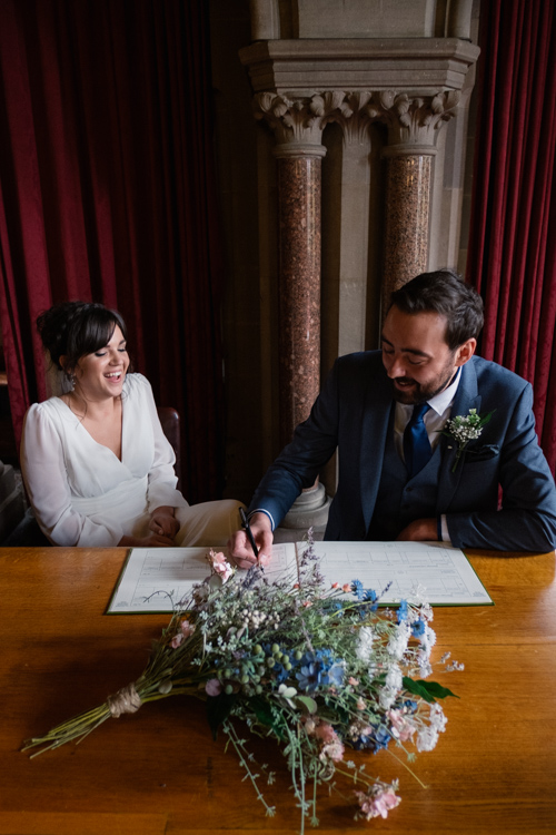 Handmade wedding in Manchester, reception at Locke 91 Deansgate, images by Jenn Brookes Photographer (16)