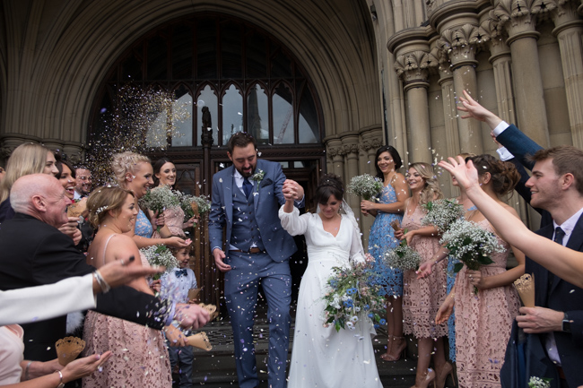 Handmade wedding in Manchester, reception at Locke 91 Deansgate, images by Jenn Brookes Photographer (22)