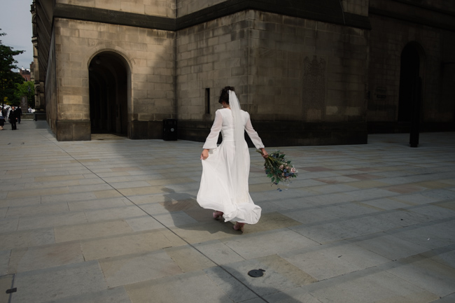 Handmade wedding in Manchester, reception at Locke 91 Deansgate, images by Jenn Brookes Photographer (25)