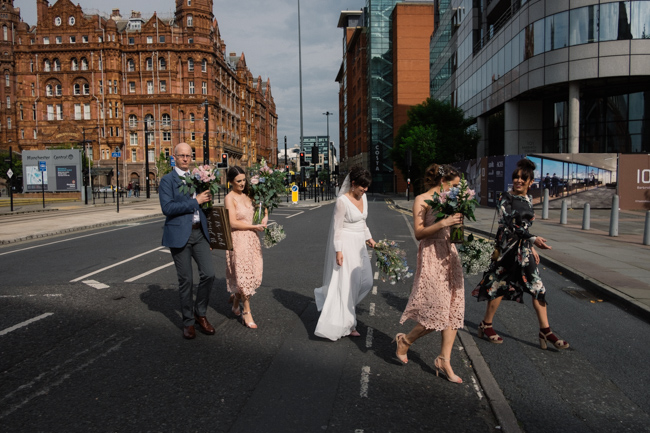 Handmade wedding in Manchester, reception at Locke 91 Deansgate, images by Jenn Brookes Photographer (27)