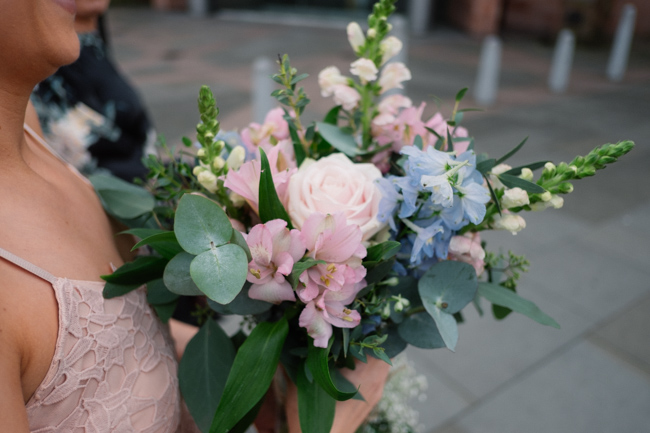 Handmade wedding in Manchester, reception at Locke 91 Deansgate, images by Jenn Brookes Photographer (28)