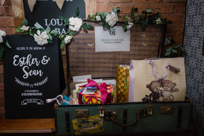 Handmade wedding in Manchester, reception at Locke 91 Deansgate, images by Jenn Brookes Photographer (37)
