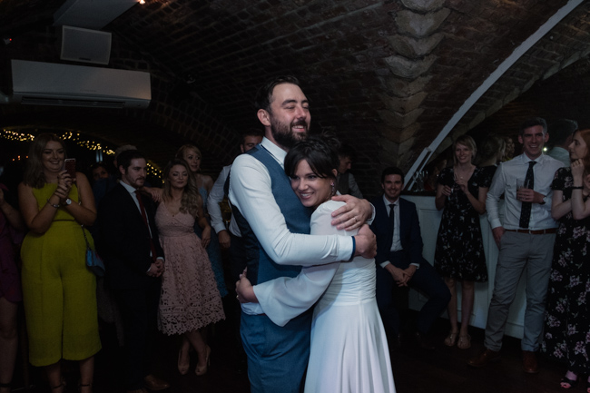 Handmade wedding in Manchester, reception at Locke 91 Deansgate, images by Jenn Brookes Photographer (38)