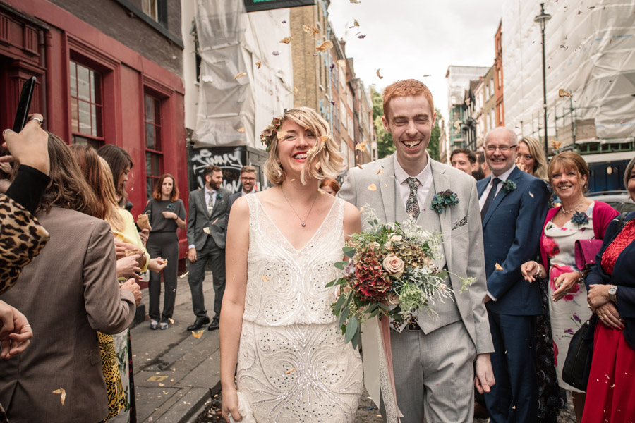 Gloriously eclectic and fun Soho wedding with Becky Harley Photography (24)