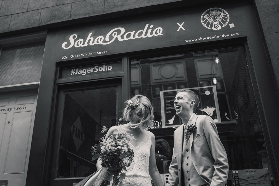 Gloriously eclectic and fun Soho wedding with Becky Harley Photography (31)