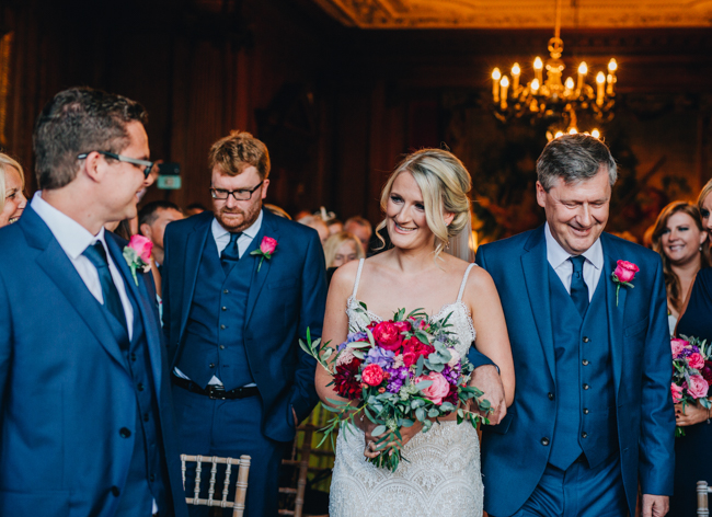Vibrant florals and classic English styling for a Thornton Manor wedding, images by Rachel Joyce Photography (10)