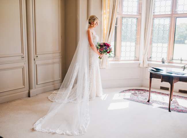 Vibrant florals and classic English styling for a Thornton Manor wedding, images by Rachel Joyce Photography (14)
