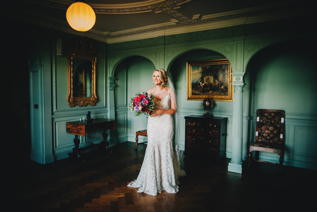 Vibrant florals and classic English styling for a Thornton Manor wedding, images by Rachel Joyce Photography (16)