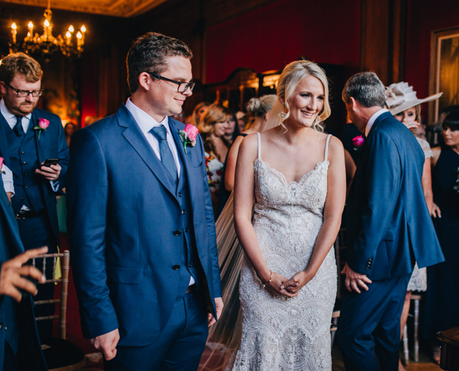 Vibrant florals and classic English styling for a Thornton Manor wedding, images by Rachel Joyce Photography (19)