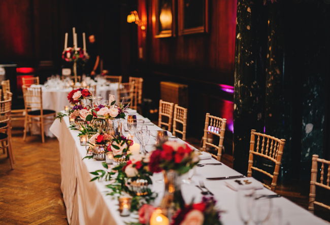 Vibrant florals and classic English styling for a Thornton Manor wedding, images by Rachel Joyce Photography (28)