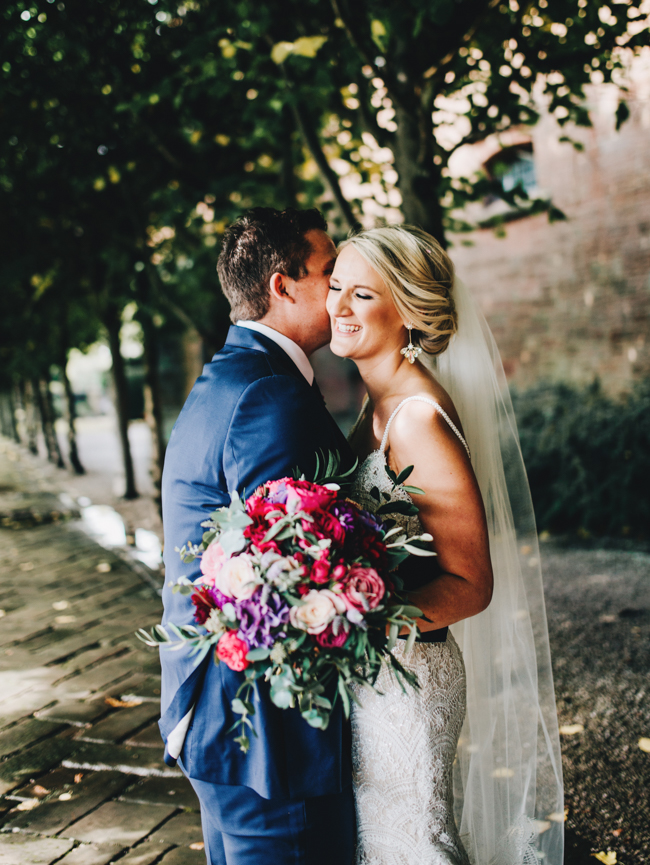 Vibrant florals and classic English styling for a Thornton Manor wedding, images by Rachel Joyce Photography (32)