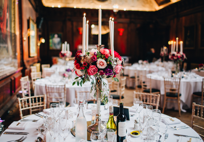 Vibrant florals and classic English styling for a Thornton Manor wedding, images by Rachel Joyce Photography (34)