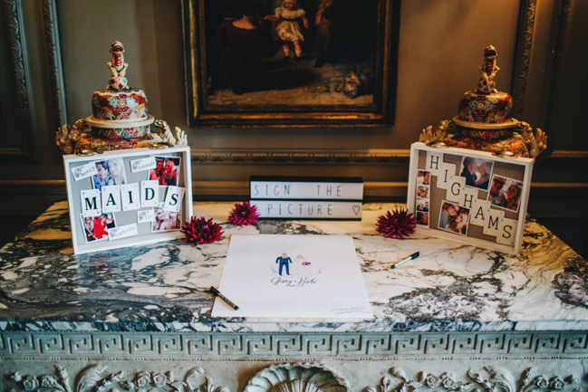 Vibrant florals and classic English styling for a Thornton Manor wedding, images by Rachel Joyce Photography (6)