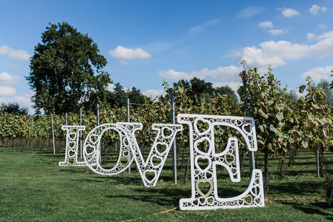 Beautiful summer wedding outdoors in an English vineyard, with Danielle Smith Photography (10)