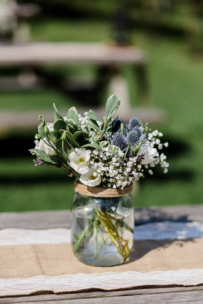 Beautiful summer wedding outdoors in an English vineyard, with Danielle Smith Photography (13)