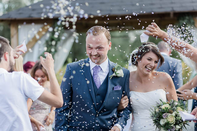 Beautiful summer wedding outdoors in an English vineyard, with Danielle Smith Photography (20)