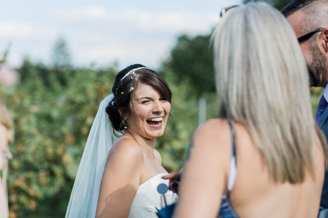 Beautiful summer wedding outdoors in an English vineyard, with Danielle Smith Photography (22)