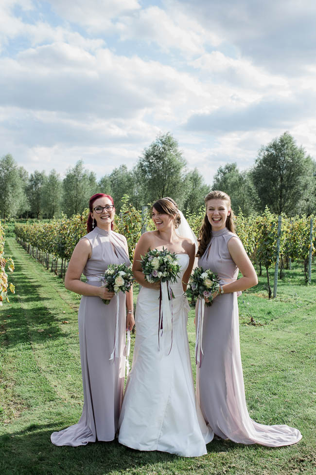 Beautiful summer wedding outdoors in an English vineyard, with Danielle Smith Photography (23)