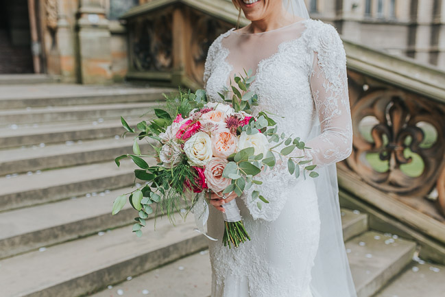 Black tie wedding styling ideas from Carlton Towers Yorkshire photographer Laura Calderwood (23)