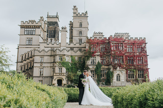 Black tie wedding styling ideas from Carlton Towers Yorkshire photographer Laura Calderwood (25)
