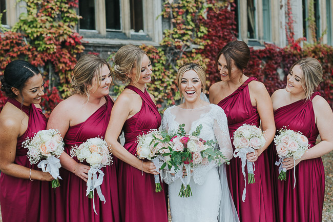 Black tie wedding styling ideas from Carlton Towers Yorkshire photographer Laura Calderwood (29)