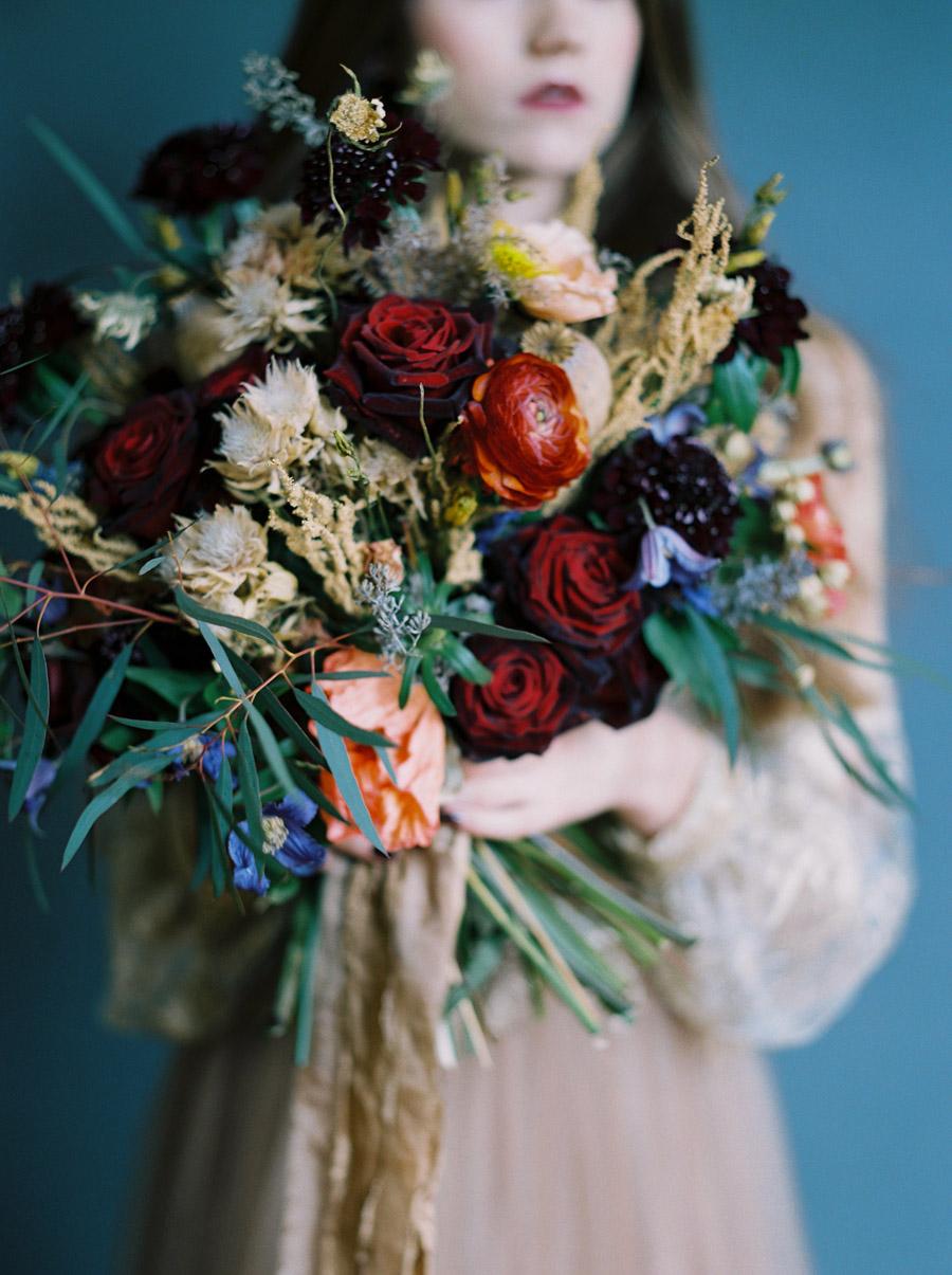 Vintage designer wedding inspiration for 2018, image credit Verona Lain Photography on the English Wedding Blog (12)
