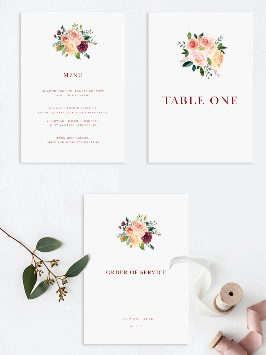 Beautiful wedding invitations and stationery by Olive Weddings – The ...
