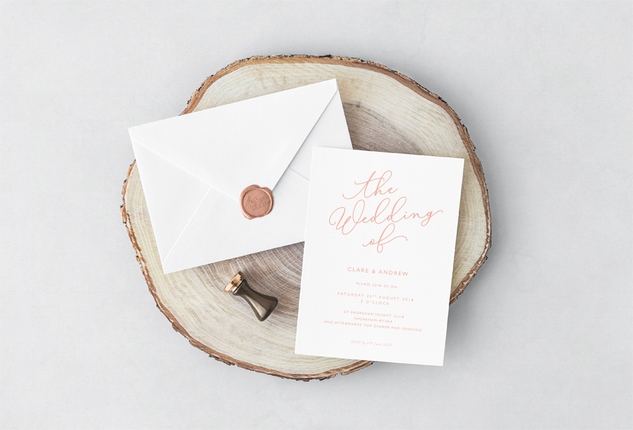 Contemporary wedding invitations and stationery by Olive Weddings on the English Wedding Blog (9)